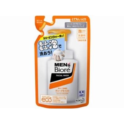 メンズビオレ 泡タイプディープモイスト洗顔 つめかえ用 130ml KAO