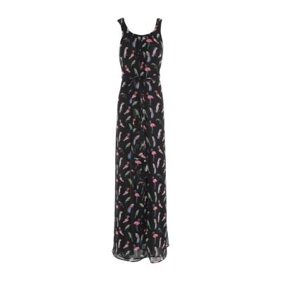 CLAUDIE PIERLOT ロングワンピース&ドレス ブラック 34 ポリエステル 100% ロングワンピース&ドレス