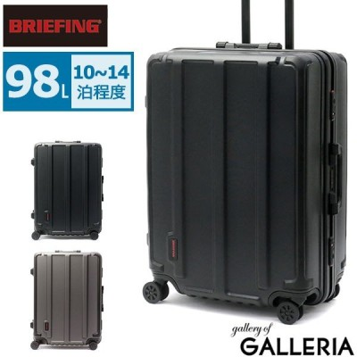 最大19%獲得 レビューでQUO 日本正規品 ブリーフィング スーツケース BRIEFING H-98 HD ハード フレーム 98L Lサイズ 大容量 メンズ BRA191C05