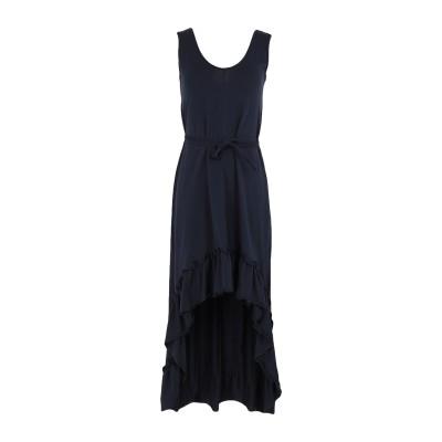 MARIUCCIA ミニワンピース&ドレス ダークブルー XS コットン 92% / ポリウレタン 8% ミニワンピース&ドレス