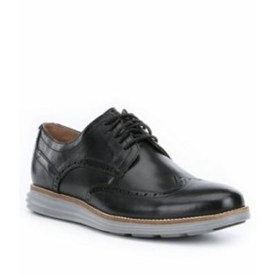 コールハーン メンズ ドレスシューズ シューズ Men's Original Grand Wingtip Oxfords Black/Iron