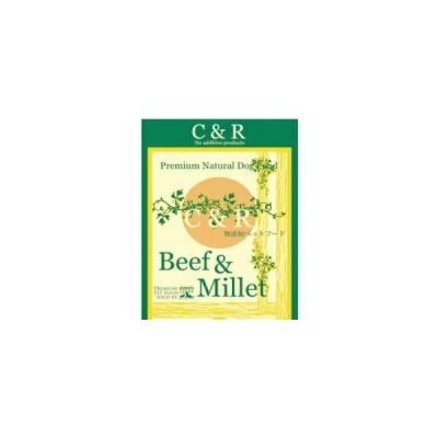 C&R プレミアム ビーフ&ミレット(CR-BM) (成犬用) 9.08kg 【正規品】