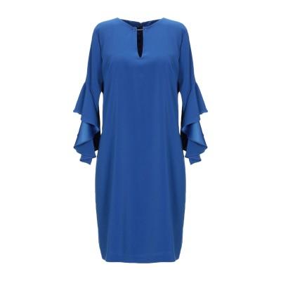 HANITA ミニワンピース&ドレス ブルー S ポリエステル 97% / ポリウレタン 3% ミニワンピース&ドレス