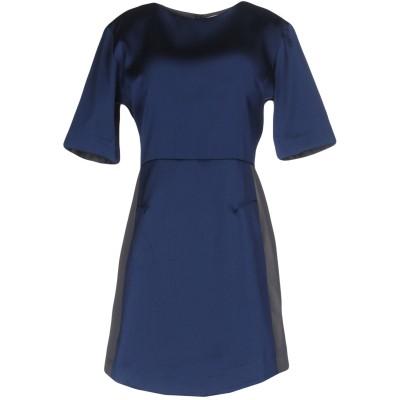 メルシー ..,MERCI ミニワンピース&ドレス ブルー 38 100% ポリエステル ミニワンピース&ドレス