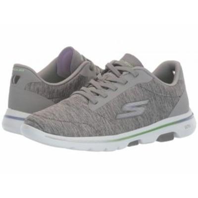 SKECHERS Performance スケッチャーズ レディース 女性用 シューズ 靴 スニーカー 運動靴 Go Walk 5 Prodigy Gray/Lavender【送料無料】