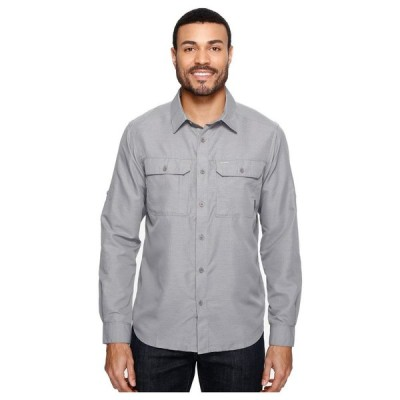 マウンテンハードウェア Mountain Hardwear メンズ シャツ トップス Canyon(TM) L/S Shirt Manta Grey