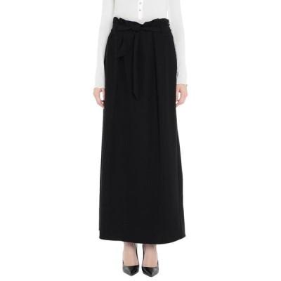 ARMANI COLLEZIONI ロングスカート ファッション  レディースファッション  ボトムス  スカート  ロング、マキシ丈スカート ブラック