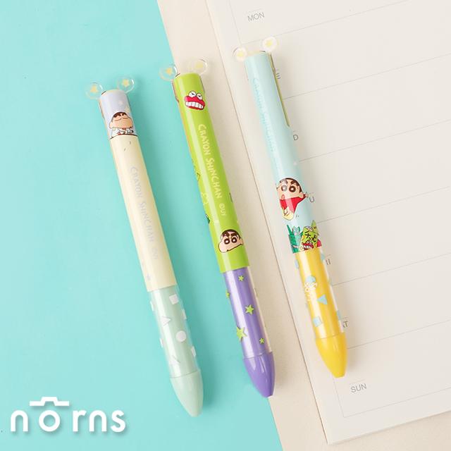 蠟筆小新雙色原子筆- Norns Crayon Shinchan 正版授權文具