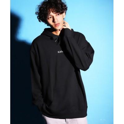 Air Tokyo / KANGOL / カンゴール 別注 コラボ 裏毛 刺繍 プル パーカー MEN トップス > パーカー