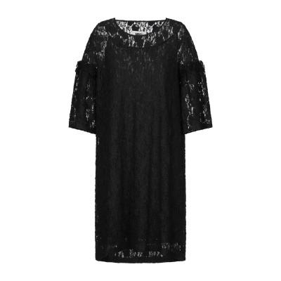 MM6 メゾン マルジェラ MM6 MAISON MARGIELA ミニワンピース&ドレス ブラック XS ナイロン 99% / ポリウレタン 1%