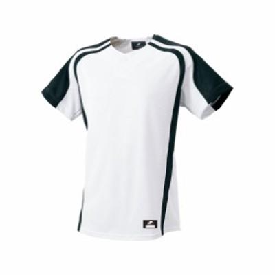 1ボタンプレゲームシャツ【SSK】エスエスケイTシャツ(BW0906)