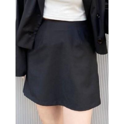 【公式】EVRIS(エヴリス)TRツイルミニスカート【セットアップ着用可能】