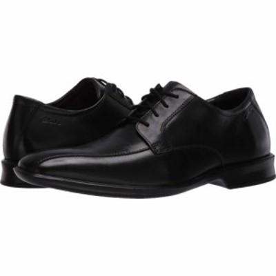クラークス Clarks メンズ 革靴・ビジネスシューズ シューズ・靴 Bensley Run Black Leather