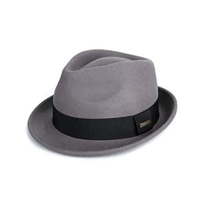 Sedancasesa Mens Felt Fedora Hat Unisex Classic Manhattan Indiana Jones Hat