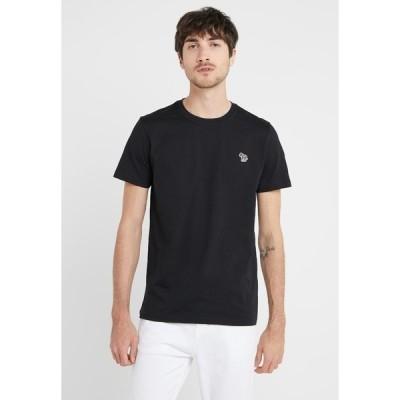 ポールスミス Tシャツ メンズ トップス SLIM FIT ZEBRA - Basic T-shirt - black