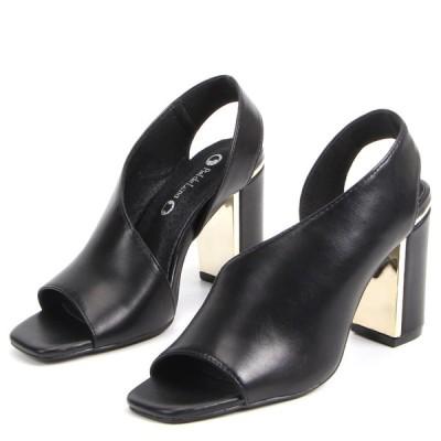 サンダル レディース ウエッジソール 痛くない 歩きやすい 靴 ヒールサンダル ポインテッドトゥ 結婚式 オフィス ハイヒール 安い 大きいサイズ 履きやすい