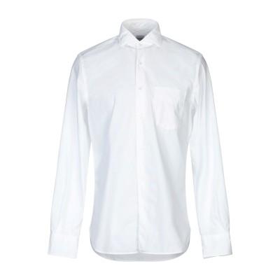 アスペジ ASPESI シャツ ホワイト 41 コットン 100% シャツ