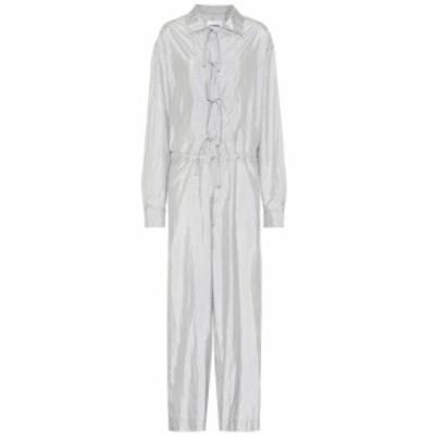 ジル サンダー Jil Sander レディース オールインワン ジャンプスーツ ワンピース・ドレス silk-blend jumpsuit Light/Pastel Grey