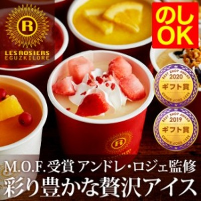 お中元 ギフト アイス アイスクリーム 銀座京橋 レ ロジェ エギュスキロール メーカー直送 のし可 送料無料