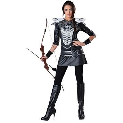 ミッドナイト Huntress コスチューム - ラージ - ドレス サイズ 10-14(海外取寄せ品)
