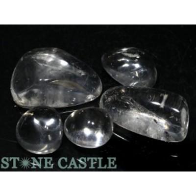 ☆置石一点物☆【天然石 置き石】水晶 (EX) 握り石 (5個セット) No.26