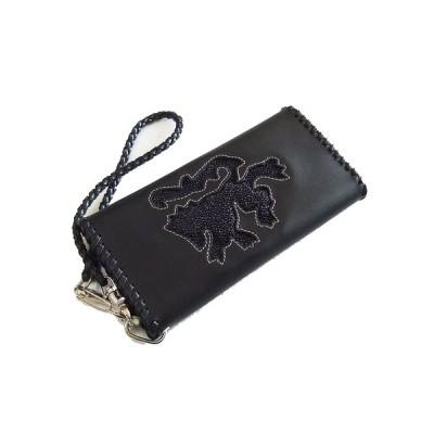 tachiya(タチヤ)スティングレイ (エイ)× レザー ロングウォレット / 長財布