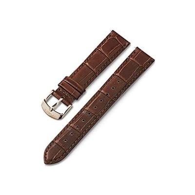 特別価格Timex Unisex 18mm Quick Release Leather Strap with Timex Pay – Brown Croco 好評販売中