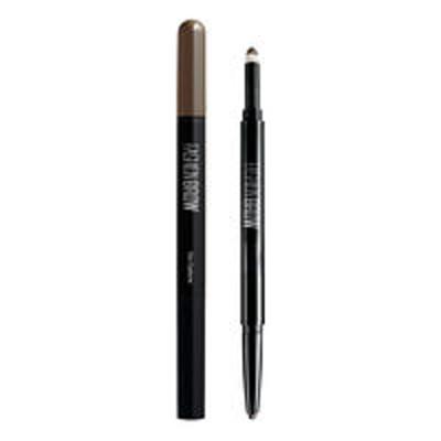 日本ロレアルメイベリン ニューヨーク アイブロウ ファッションブロウ スリム&ソフト BR-1 自然な濃茶色 ペンシル:0.5g パウダー:0.11g