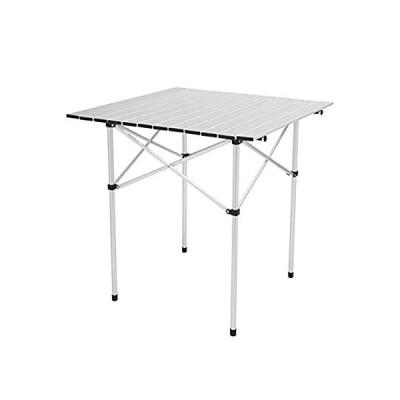特別価格OTU 27.6 x27.6 x27.6 Square Camping Table Portable Tables for Picnic, Camp,好評販売中