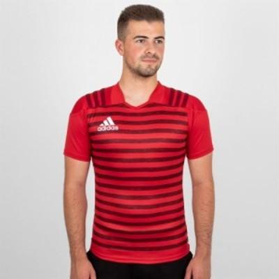 アディダス adidas メンズ トップス Rugby Replica Shirt Power Red
