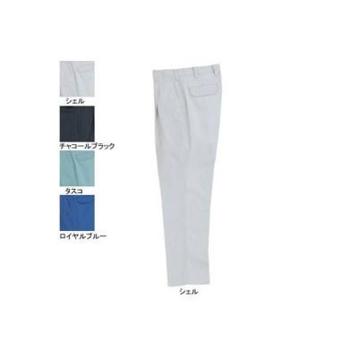 バートル BURTLE 6037 ワンタックパンツ 70〜88 かっこいい おしゃれ 作業服 作業着 春夏用 ズボン