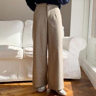 ENVYLOOK レディース パンツ Herringbone Pants