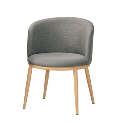 MUNA 美諾瑪餐椅(五金腳)(1入)共兩色 57X58X73cm