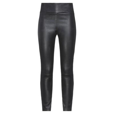 ドローム DROMe パンツ ブラック L 羊革(ラムスキン) 100% パンツ