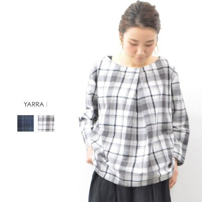 (70%OFFセール)YARRA(ヤラ)フロントタックプルオーバー (ネコポス便可能)