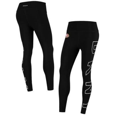 ダナ キャラン ニューヨーク レディース カジュアルパンツ ボトムス San Francisco 49ers DKNY Sport Women's Eva Leggings Black