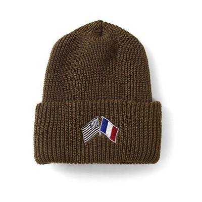 Lafayette ラファイエット CROSS FLAG LONG BEANIE ニットキャップ LS201405 SAND サンド SAND ONE SIZE