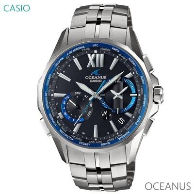 メンズ 腕時計 7年保証 送料無料 カシオ オシアナス マンタ ソーラー 電波 OCW-S3400-1AJF 正規品 CASIO OCEANUS Manta