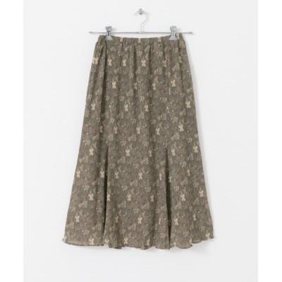 URBAN RESEARCH / UR Lab. ワッシャーハナガラロングスカート WOMEN スカート > スカート