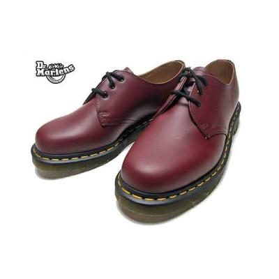 ドクターマーチン Dr.Martens 1461 SMOOTH プレーントゥ 3-EYE SHOE 3ホール チェリーレッド メンズ レディース 靴