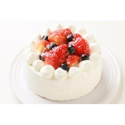 生デコレーションケーキ 4号 12cm