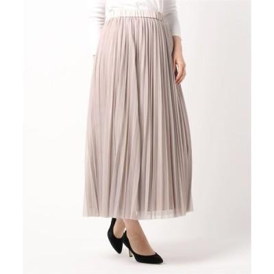 スカート リバーシブル! チュールプリーツスカート&ヴィンテージサテンギャザースカート