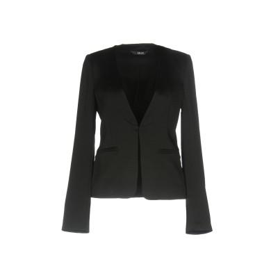 リュー ジョー LIU •JO テーラードジャケット ブラック 44 レーヨン 56% / アセテート 44% テーラードジャケット