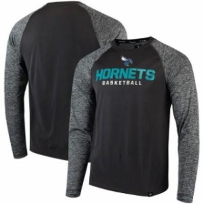 Fanatics Branded ファナティクス ブランド スポーツ用品  Fanatics Branded Charlotte Hornets Charcoal Static Long
