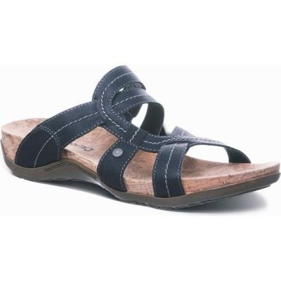 ベアパウ BEARPAW レディース サンダル・ミュール フラット シューズ・靴 Kai Flat Sandals Black