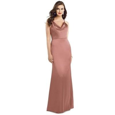 ドレッシーコレクション ワンピース トップス レディース Cowlneck Sleeveless Maxi Dress Desert Rose Pink