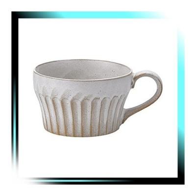 濃釉鎬スープカップ粉引