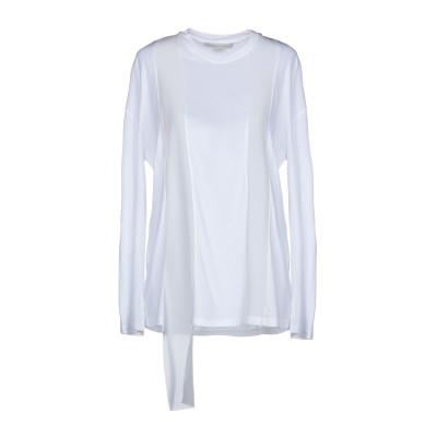 ステラ マッカートニー STELLA McCARTNEY T シャツ ホワイト 36 コットン 100% / シルク T シャツ