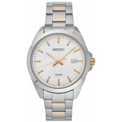 セイコーSeiko メンズ時計 シルバーダイヤル SUR211 腕時計