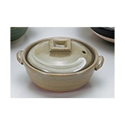 小鍋 和食器 / 京風刷毛目4.0鍋 寸法:14 x 12.5 x 7.5cm